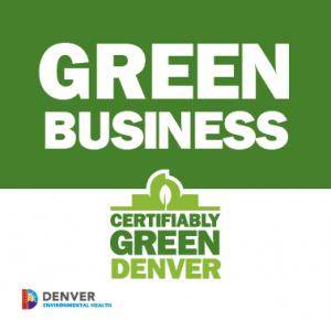 Certifiably Green Denver business