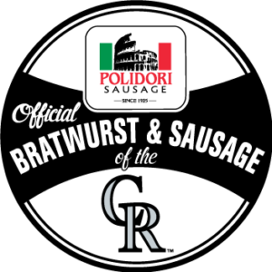 Official bratwurst & sausage of the Colorado Rockies - Polidori Sausage