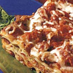 sausage cheese lasagna recipe