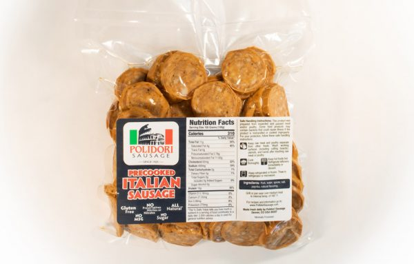 Polidori Precooked Italian Sausage