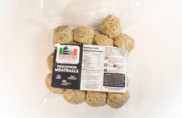 Polidori Precooked Meatballs